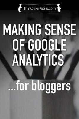 Making sense of Google Analytics for bloggers
