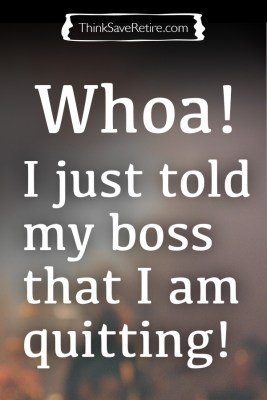 Pinterest: I just told my boss that I am quitting