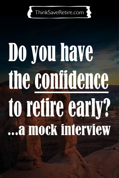Pinterest: Do you have the confidence to retire early?