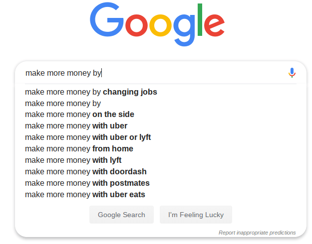 Google Make More Money by Changing Jobs