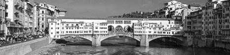 b&w - firenze, ponte vechio logo