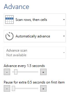 switch scanning