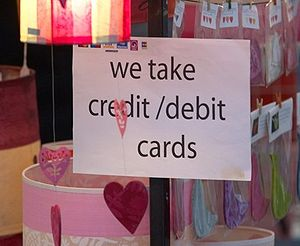 An example of street markets accepting credit ...