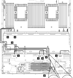 figure 1 cable routing common drive cables lower tray  [ 1854 x 2395 Pixel ]