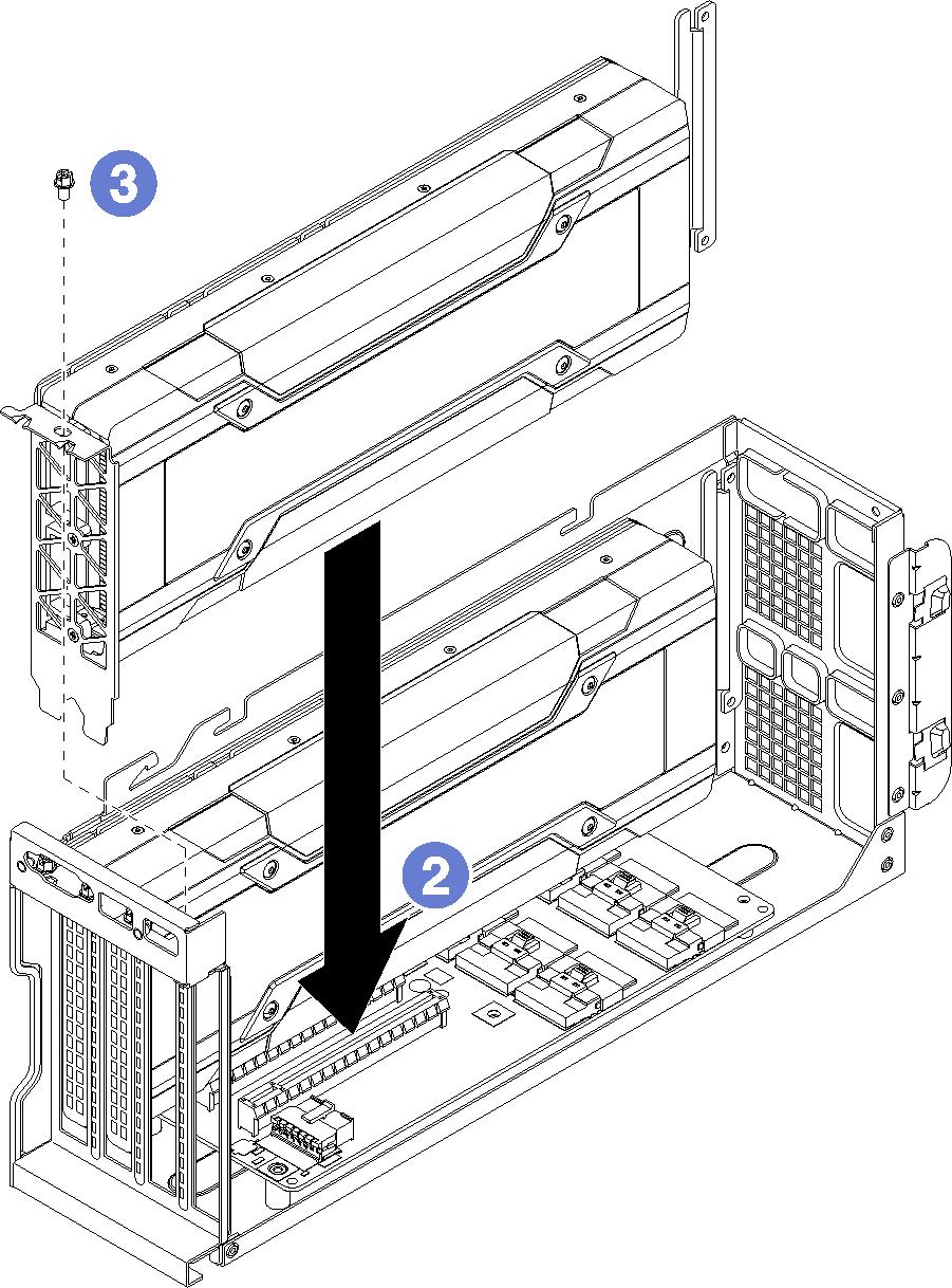 medium resolution of installing an fhfl gpu adapter