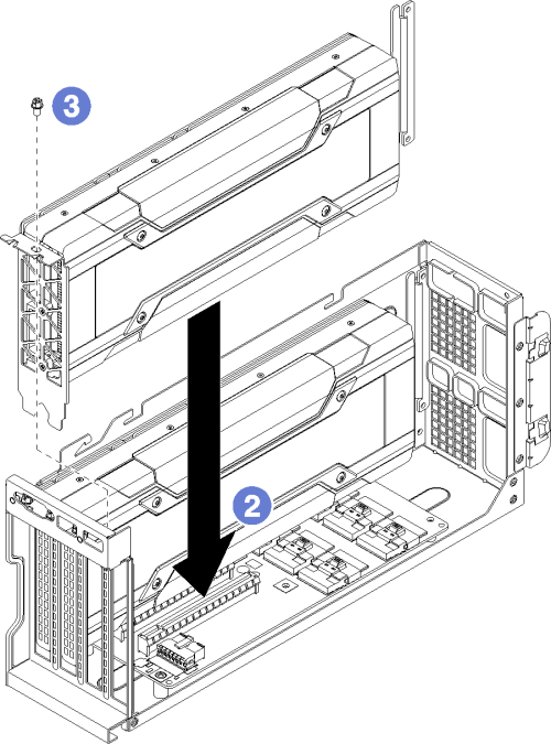 small resolution of installing an fhfl gpu adapter