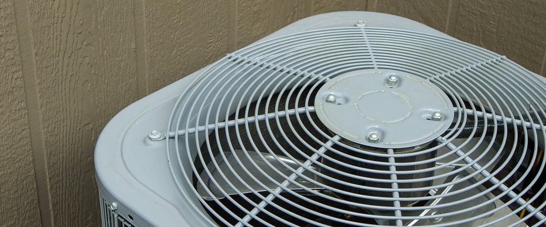 AC compressor fan