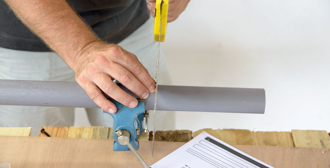 Cutting PVC Pipe