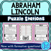 Abraham Lincoln Puzzle Stations picture