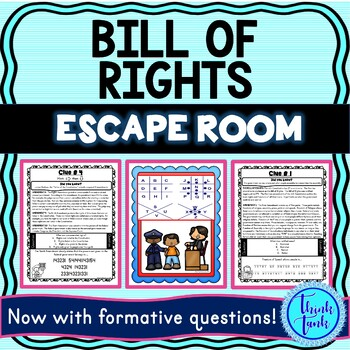 Bill of Rights Escape Room cover