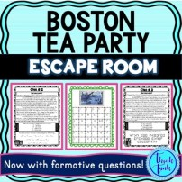 Boston Tea Party ESCAPE ROOM picture