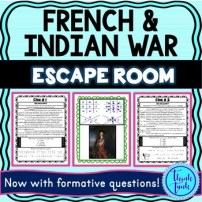 French and Indian War Escape Room Picture