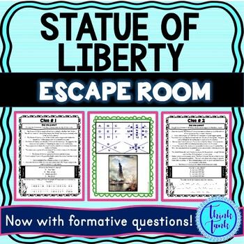 Statue of Liberty escape room picture