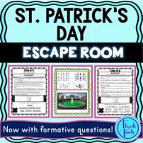 St Patrick's Day Escape Room Cover