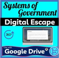 Systems of Government Digital Escape Room Picture