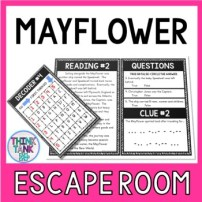 Mayflower Escape Room Activity picture