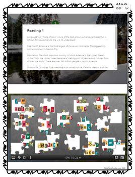 North America DIGITAL ESCAPE ROOM for Google Drive
