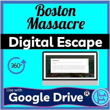 Boston Massacre DIGITAL ESCAPE ROOM picture