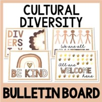 Cultural Diversity Bulletin Board picture