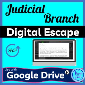 Judicial Branch Digital Escape Room picture