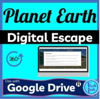 Planet Earth DIGITAL ESCAPE ROOM picture