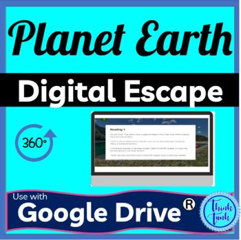 Planet Earth DIGITAL ESCAPE ROOM picture