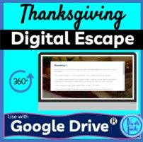 Thanksgiving Digital Escape Room picture