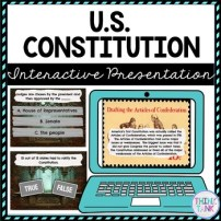 U.S Constitution Interactive Google Slides™ Presentation picture