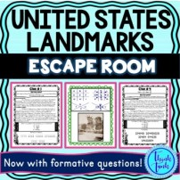 U.S. Landmarks ESCAPE ROOM - United States picture