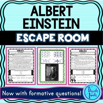 Albert Einstein ESCAPE ROOM picture