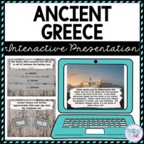 Ancient Greece Interactive Google Slides picture