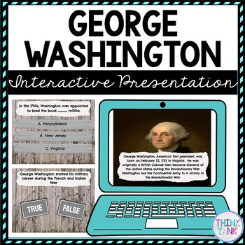 George Washington Interactive Google Slides picture