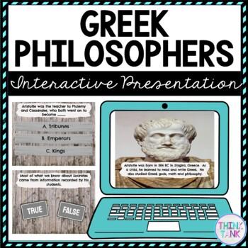 Greek Philosophers Interactive Google Slides picture