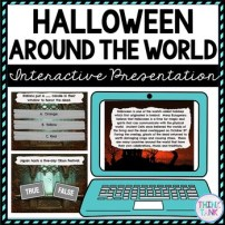 Halloween Around the World Interactive Google Slides picture