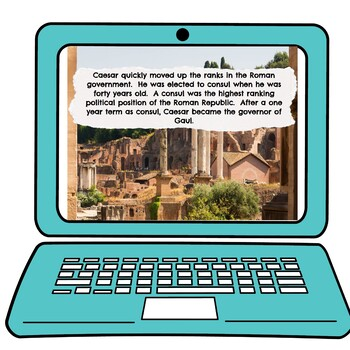Julius Caesar Interactive Google Slides picture