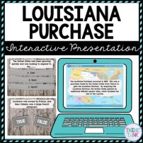 Louisiana Purchase Interactive Google Slides picture