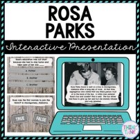 Rosa Parks Interactive Google Slides picture