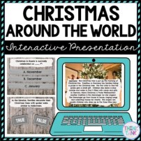 Christmas Around the World Interactive Google Slides picture