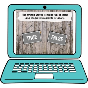 Citizenship and Naturalization Interactive Google Slides picture