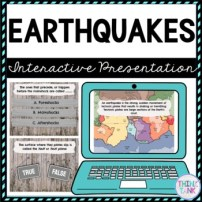 Earthquakes Interactive Google Slides™ Presentation picture