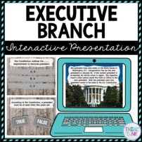 Executive Branch Interactive Google Slides™ Presentation picture