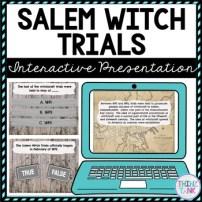 Salem Witch Trials Interactive Google Slides™ Presentation picture
