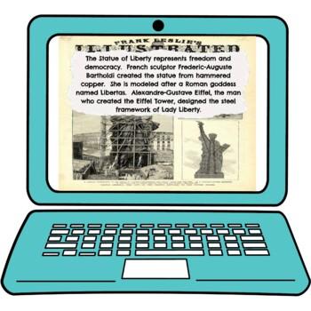 Statue of Liberty Interactive Google Slides™ Presentation picture