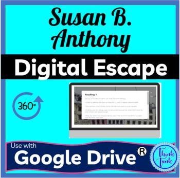 Susan B Anthony DIGITAL ESCAPE ROOM picture