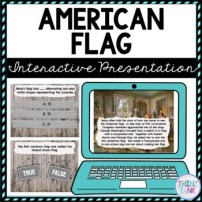 American Flag Interactive Google Slides™ Presentation | Distance Learning