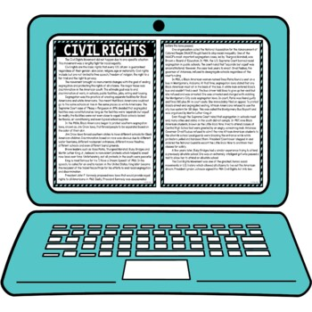 Civil Rights Secret Message Activity for Google Sheets™ I Distance Learning