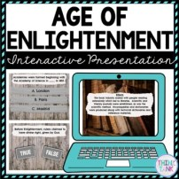 Enlightenment Interactive Google Slides™ Presentation | Distance Learning