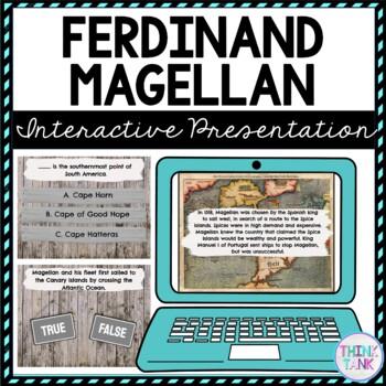 Ferdinand Magellan Interactive Google Slides™ Presentation | Distance Learning