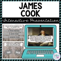 James Cook Interactive Google Slides™ Presentation Distance Learning
