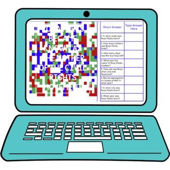 Rosa Parks Secret Message Activity for Google Sheets™ | Distance Learning